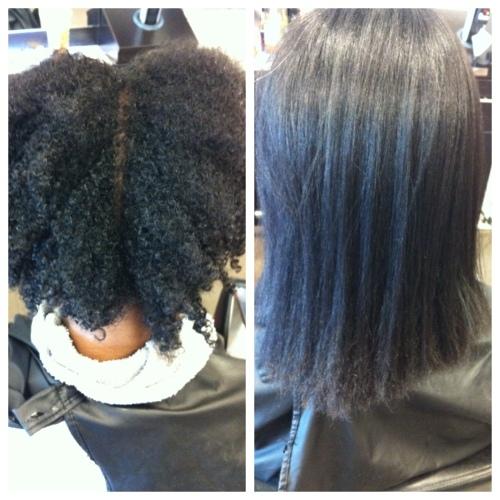Hair Brush Straightener for Black Girls