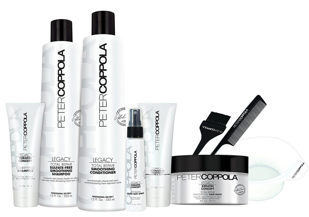 PETER COPPOLA Coppola Keratin Smoothing Treatment Formaldehyde & Aldehyde-Free