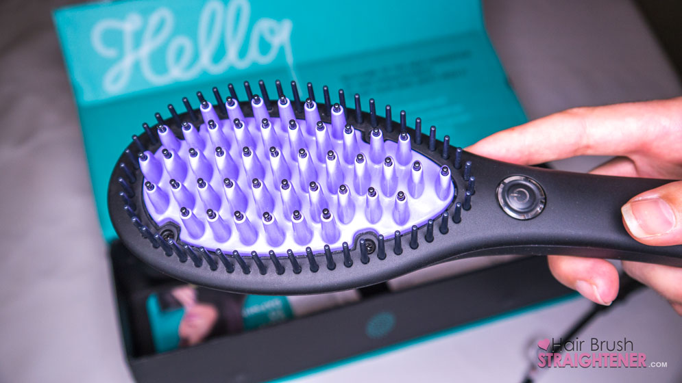Dafni Hair Brush Straightener Bristles