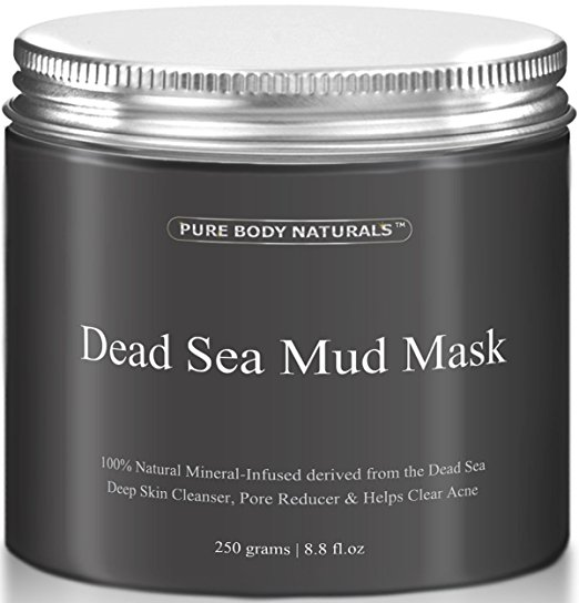 Pure Body Naturals Mud Mask- Best Black Friday and Cyber Monday Beauty Deals