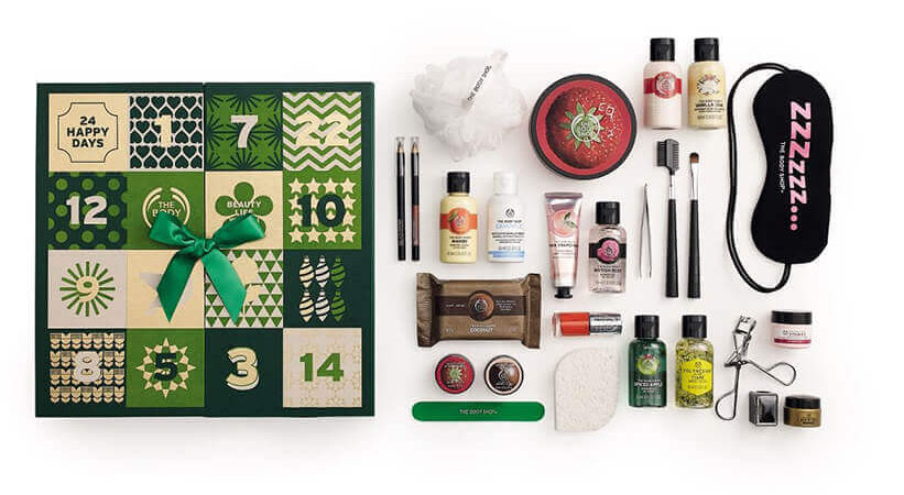 The Body Shop Beauty Advent Calendar - Best Black Friday and Cyber Monday Beauty Deals