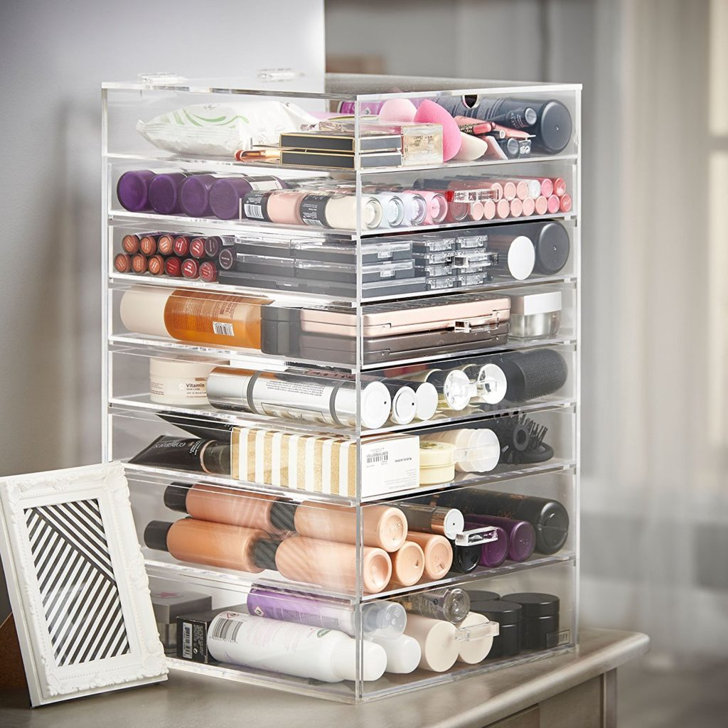 8 Drawers Makeup Organizer - Best Makeup Organizers