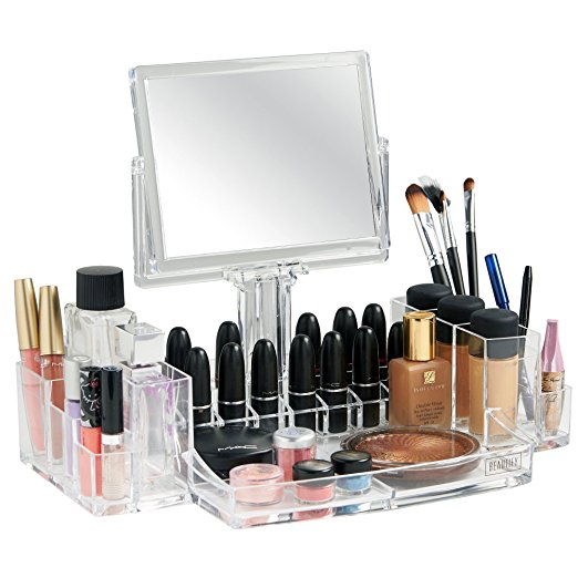 Makeup Organizer Mirror - Best Makeup Organizer