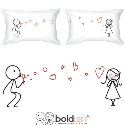 Bold Loft Pillow Cases - Best Valentines Day Gifts For her 2017