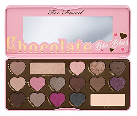 Chocolate Bon Bons Palette Too Faced - Best Valetines Day Gifts For Her 2017