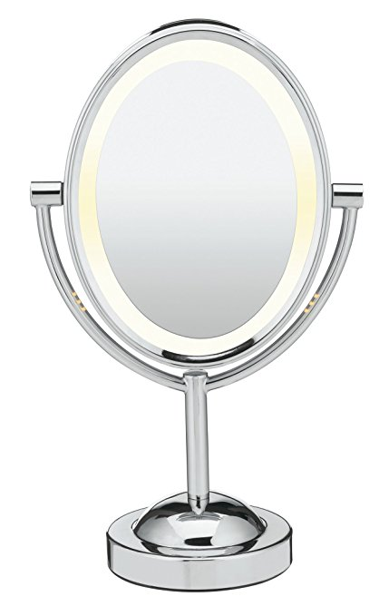 Conair Oval Shaped Double-Sided Lighted Makeup Mirror - Best Valentines Day Gifts for Her 2017