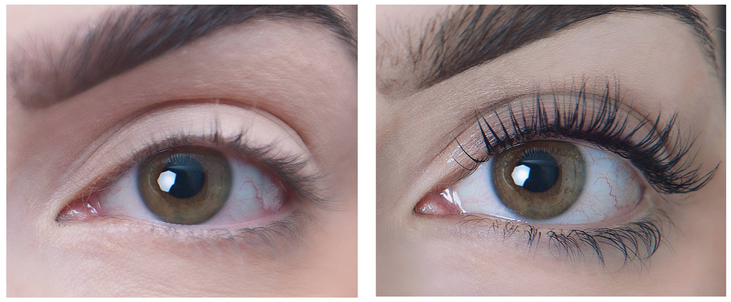 Lash Lift Perming Before and After - Best Eyelash Perm Kit