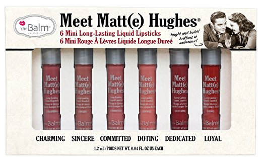 Meet Matte Hughes Lipstick Collection - Best Valentines Day Gifts for Her 2017