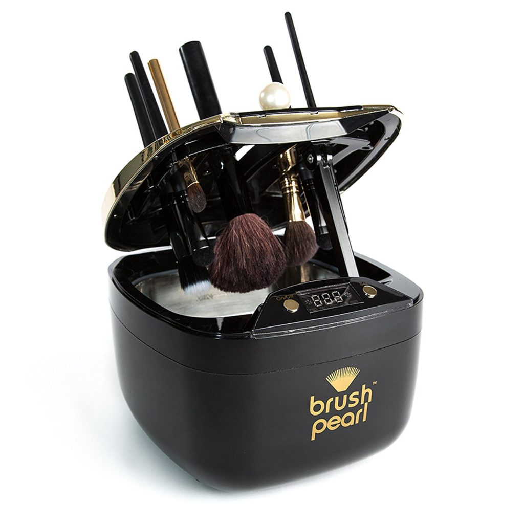 BrushPearl Makeup and Cosmetic Brush Cleaner - Makeup Brush Cleaner Machine