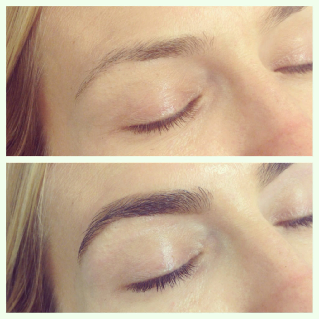 Brow Tint Before And After - Best Eyebrow Tinting Kit
