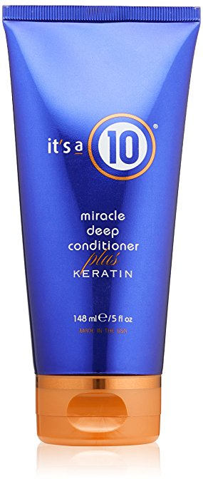 It's a 10 Miracle Deep Conditioner Plus Keratin - Best Hair Treatment For Damaged Hair