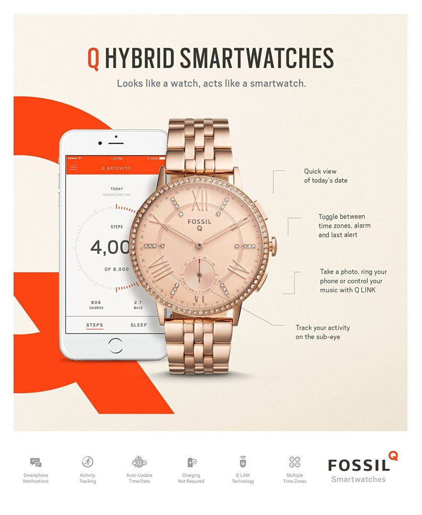 Fossil Fitness Tracker - Stylish Fitness Watches