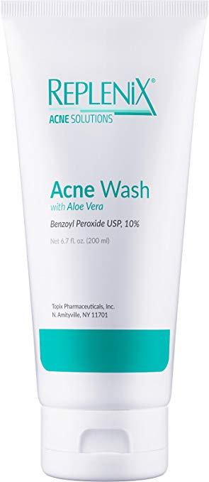 Replenix 10% Benzoyl Peroxide Wash with Aloe Vera