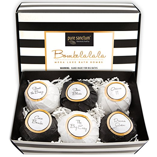 Luxury Bath Fizzies by Pure Sanctum