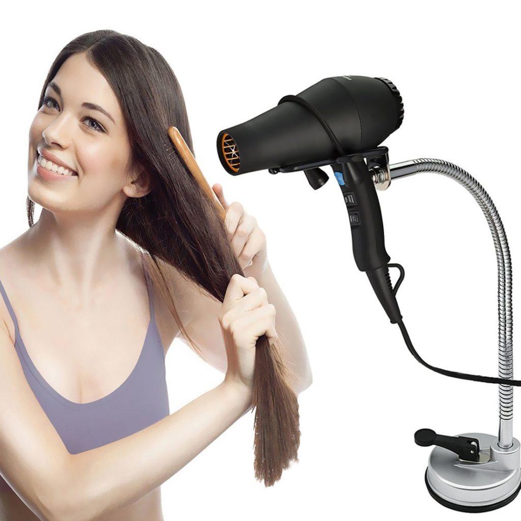 Pard Desktop Hair Dryer Stand Holder