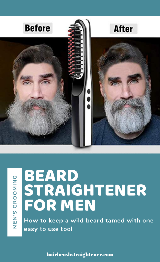 best beard straightener