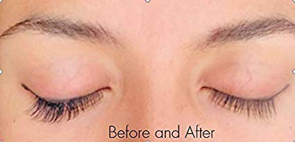 Lash Love Magnetic Lashes Before & After