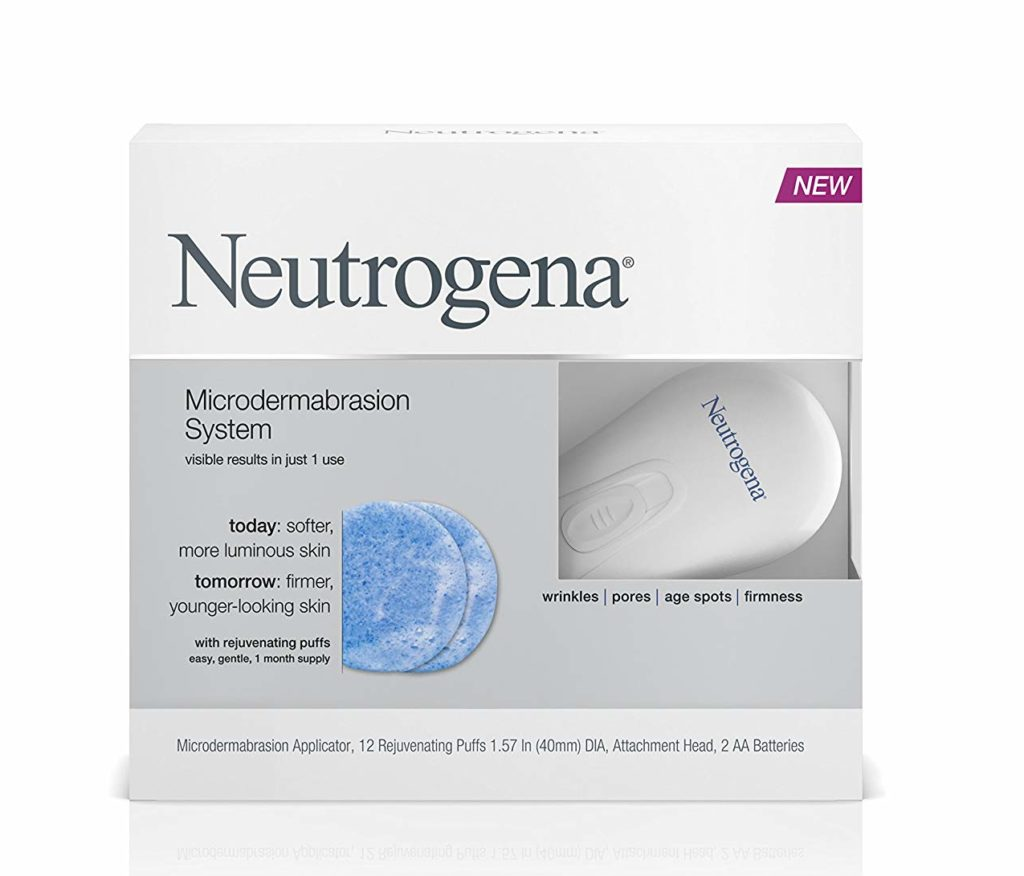 microdermabrasion starter kit from Neutrogena
